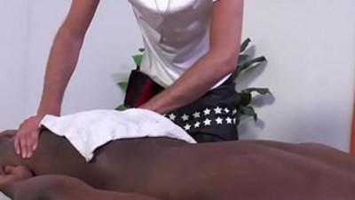black gay  massage