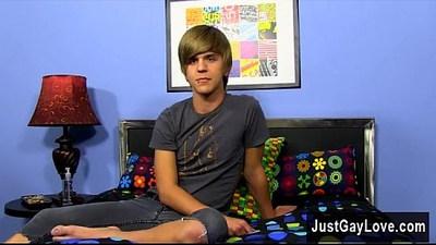 blonde gay  casting  emo boy