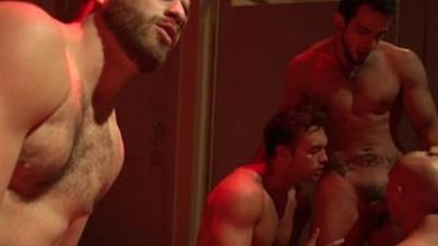 gay hardcore  orgy